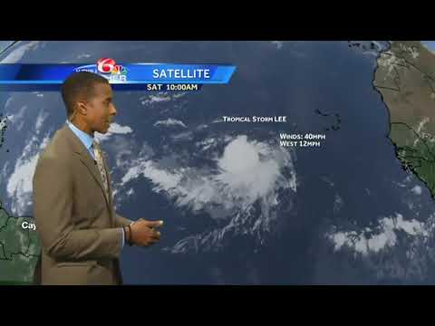 Tracking the Tropics: Tropical Storm Lee forms in Atlantic