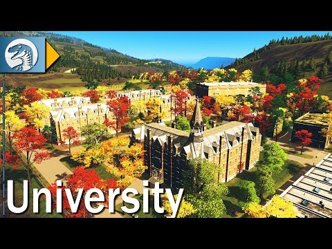 [LIVE🔴] Building a HUGE University Campus | Ep. 03 | Cities Skylines Gameplay with Mods
