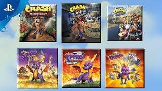 Spyro + Crash Remastered Game Bundle | PS4