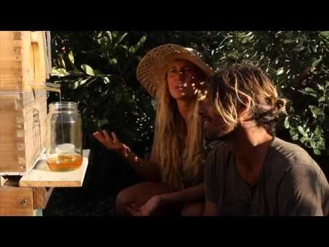 Dave Rastovich & Lauren Hill Swarm to Harvest with Flow™ Hive