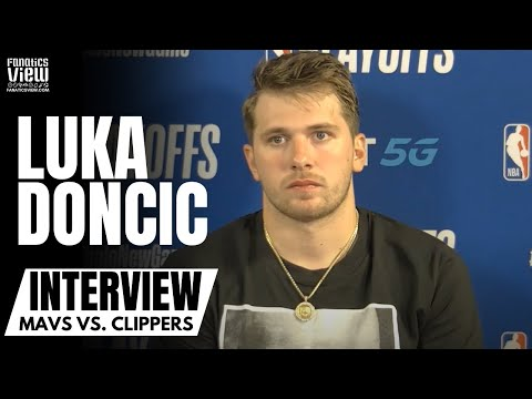 """Luka Doncic Reacts to Kristaps Porzingis Ejection & Mavs Game 1 Loss: """"KP Had My Back"""""""