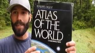 "A Flat Earth Map Appears in the ""Atlas of the World"""