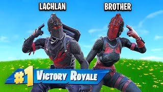 Fortnite Duos With My Brother! (Battle Royale)