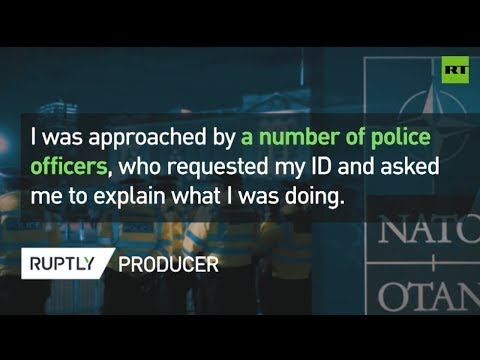 RUPTLY producer detained 'under terrorism act' at NATO Summit