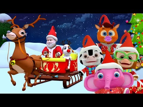 Thumbnail: Jingle Bells | Christmas Songs Videos For Toddlers | Nursery Rhymes For Babies by Little Treehouse