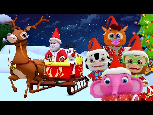 Jingle Bells | Christmas Songs Videos For Toddlers | Nursery Rhymes For Babies by Little ...