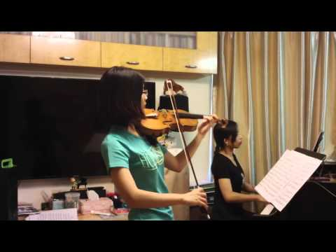 ABRSM 2016-19 Grade 8 Violin A4 Bach Concerto in A minor (1st mvt) by Doris Lee and Lai Bo Ling