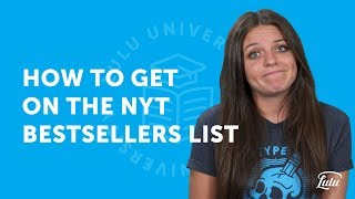How to Get on the NYT Bestsellers List