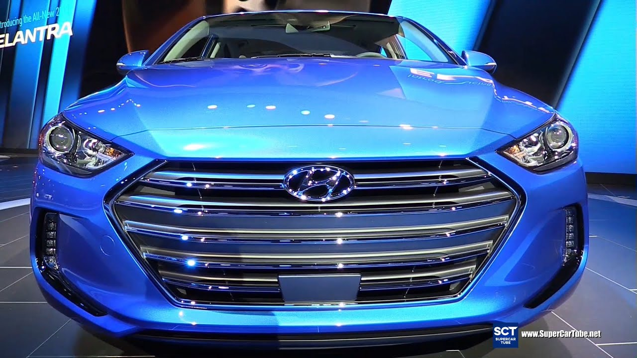2017 Hyundai Elantra Limited   Exterior And Interior Walkaround   Debut At  2015 LA Auto Show   YouTube