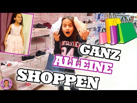 MILEY darf GANZ ALLEINE SHOPPEN und BESTIMMEN - Was kauft eine 8-Jährige? - Mileys Welt