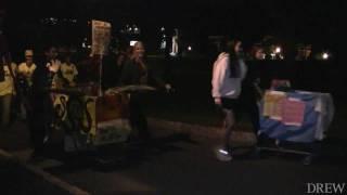 Shopping Cart Parade Creates Buzz on Campus