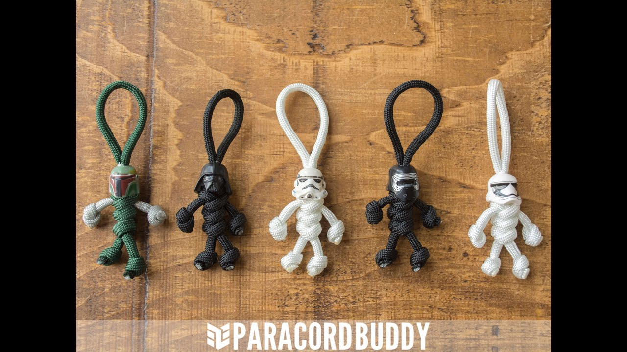 Star wars paracord buddy the best star wars keychain by for How to make a keychain out of paracord