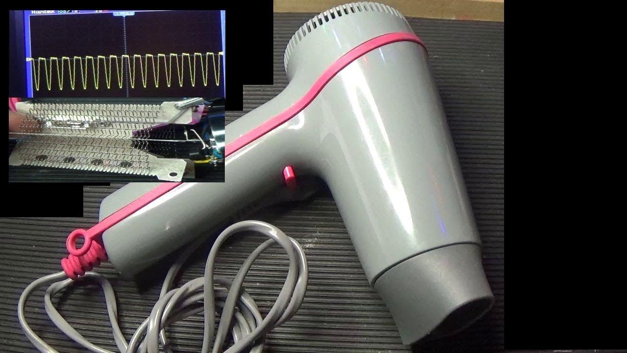 Schema Elettrico Phon : Pieraisa riparazione phon asciugacapelli youtube