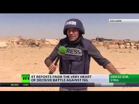 ISIS surrounded in Deir ez-Zor