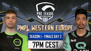 [EN] PMPL Western Europe Finals Day 2   Season 1   PUBG MOBILE Pro League 2021
