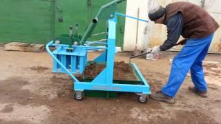 Станок для производства строительных блоков на 4 четыре шлакоблока ВМ-4В+  / Stanok102ru(, 2014-04-20T07:08:22.000Z)