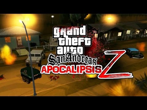 GTA San Andreas Apocalipsis Zombie | EPIDEMIA Z | LA PELÍCULA