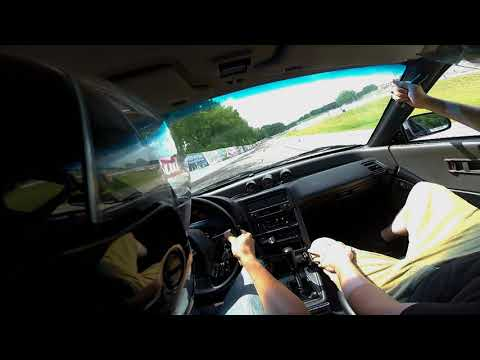 91 Honda CRX Autocross at Madison International Speedway