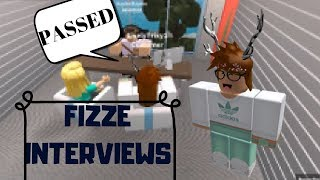 ROBLOX | Fizze Interviews | i passed!