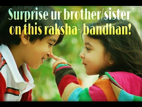 Perfect Gift Ideas For Brother And Sister This Rakhicute