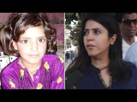 Asifa Case - Ekta Kapoor REACTS To Kathua Asifa's Case | #JucticeForAsifa