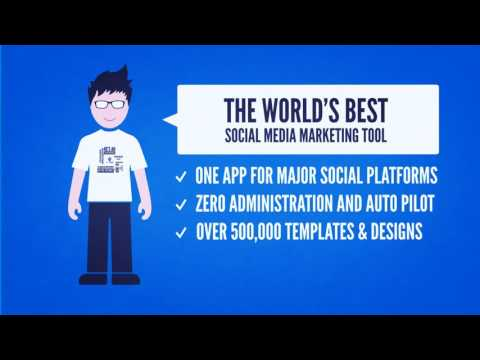 Bleupage Pro ¦ All in one Social Media Marketing Software with zero administration