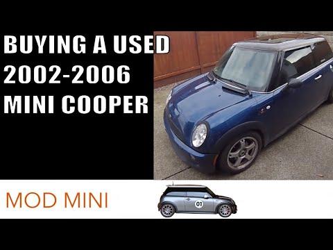 Buying a used 2002-2006 MINI Cooper - things to look for  - Gen 1 R50 R53