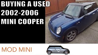 Buying a used 2002-2006 MINI Cooper - what to look for mechanically
