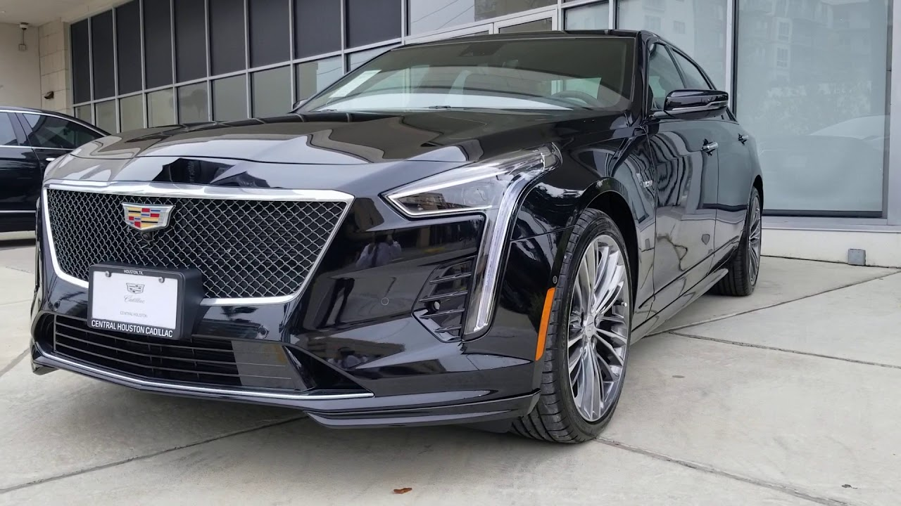 2019 Cadillac CT6-V Has Arrived At Central Houston