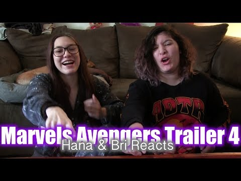 Marvels Avengers 4 Trailer! Hana and Bri Reacts!