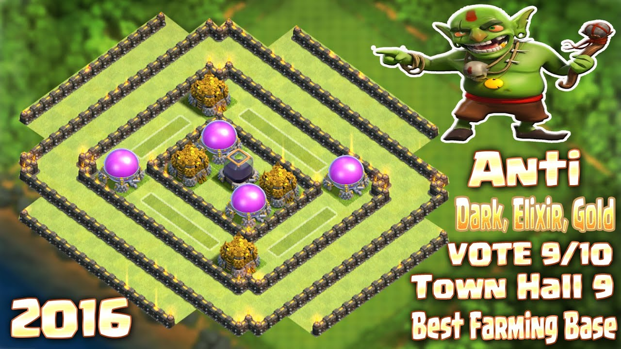 Base Coc Th 9 Anti Maling 4