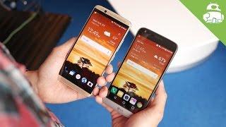 ZTE Axon 7 vs LG G5 first look
