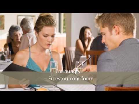 FREE PORTUGUESE LESSON 7  AT THE RESTAURANT