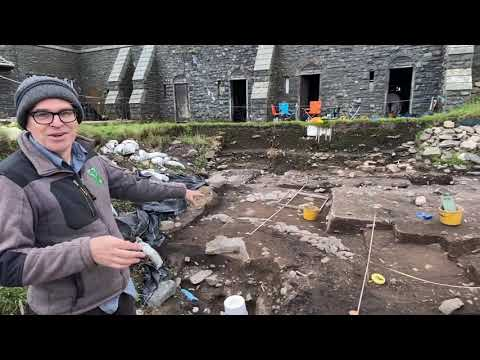 Exciting Archaeological Find At Bamburgh Castle