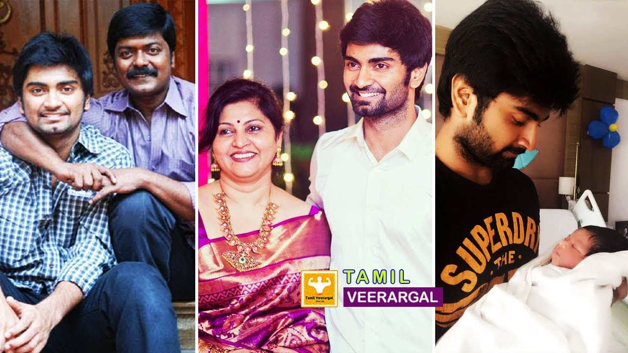 Atharva Family Photos | Actor Atharvaa Murali Father, Mother, Brother and  Sister & Friends Photos