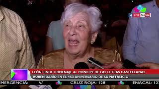 León rinde 153 años del natalicio del príncipe de las letras castellanas Rubén Darío