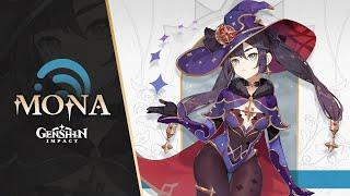 "New Character Demo - ""Mona: Fate and Destiny"" | Genshin Impact"