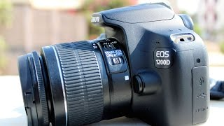 Ручному режимі Canon матеріалом 1200D, 1300D дзеркалка