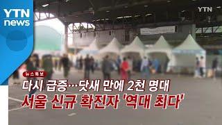 [YTN 실시간뉴스] 닷새 만에 2천 명대...서울 신…