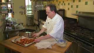 Garden Connections' Chef Larson - Corn & Crab Hushpuppies
