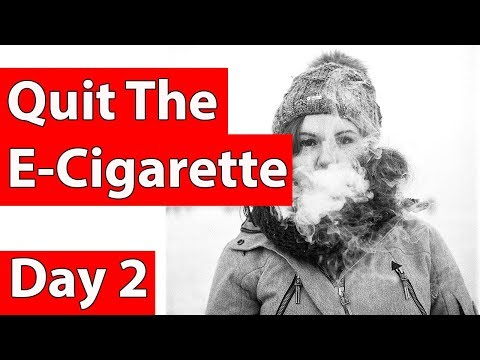 Stop smoking e-cigs (Quit e-cigarettes in 3 easy steps) stage 2 of 3