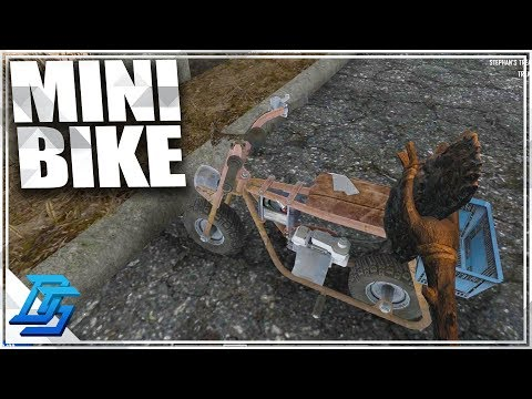 MINI BIKE & CRACK A BOOK HQ!  - 7 Days To Die - S2- Pt. 12 (Alpha 16)