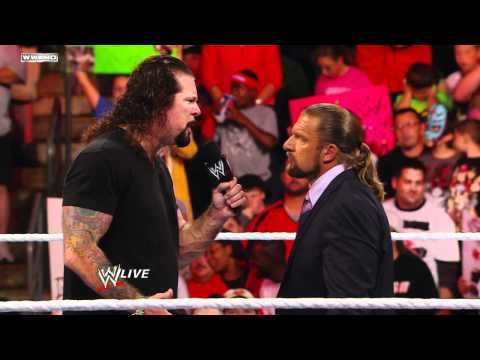 Raw - WWE COO Triple H fires Kevin Nash