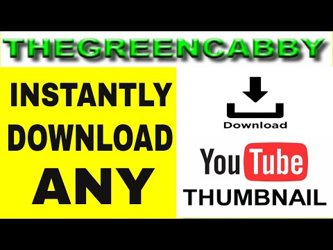 HOW TO DOWNLOAD ANY YOUTUBE THUMBNAIL QUICK SIMPLE SOLUTION - 2019 THUMBNAIL DOWNLOADER ONLINE