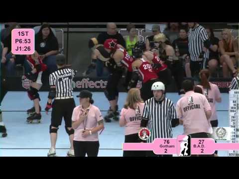 Star of Texas Bowl 2012: Gotham Girls Roller Derby v Bay Area Derby Girls