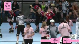 Star of Texas Bowl 2012: Gotham Roller Derby v Bay Area Derby Girls