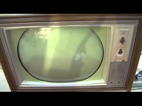 Replacing CRT In Roundie Color Television RCA CTC16