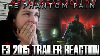 Metal Gear Solid 5 E3 2015 Trailer Reaction