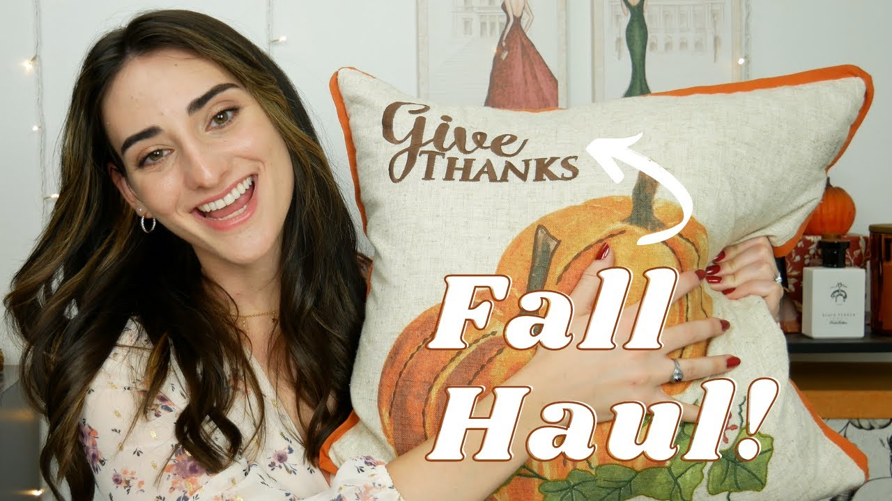 DECORATING My House For FALL 🍁 || How to get your home ready for autumn while sticking to a budget!