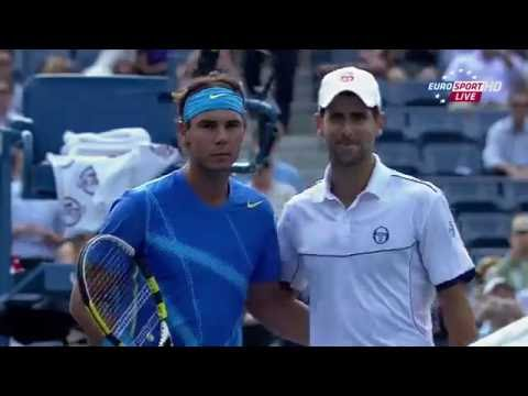 2011 - US Open - Finale - Novak Djokovic b Rafael Nadal 6/2 - 6/4 - (3)6/7 - 6/1